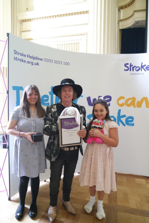Local ten year old who saved Mum during a stroke receives regional recognition
