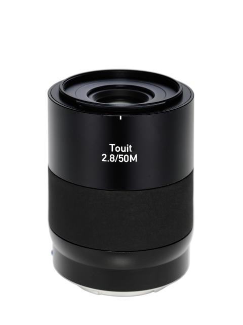 Zeiss Touit 50mm F/2,8 Macro E-fatning, stående