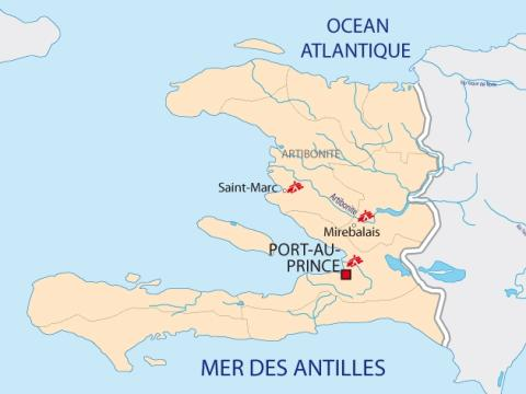 Bekräftat kolerautbrott drabbar Haiti