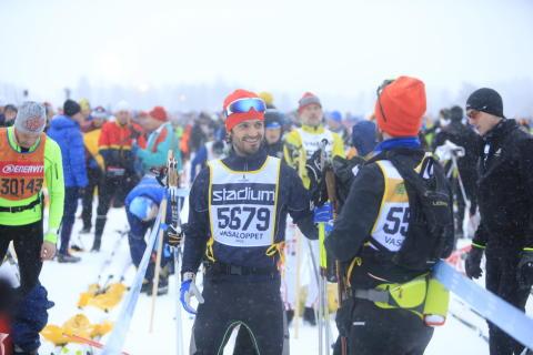 H.K.H. Prins Carl Philip åker Vasaloppet 2019