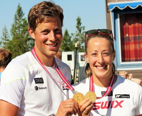 NM rulleskiskyting 2015 Jaktstart vinnere