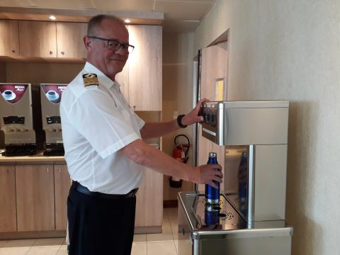 Fred. Olsen is first cruise line to pledge support to national Refill Campaign, with environmental organisation City to Sea, to encourage guests to 'bring their own bottles' on next holiday