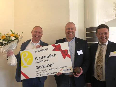 Life-Partners vinder Welfare Tech Award 2018
