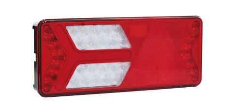 Unbreakable – and pretty cool: the new generation of the indestructible Ermax tail lights, now even better with an LED chase