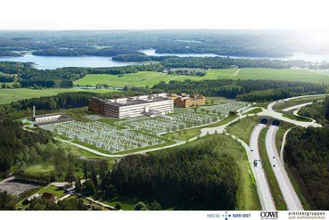Samhandling og effektivisering for nytt østfoldsykehus