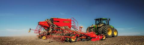 Rapid - med gødningsplacering sikrer din kapacitet i det travle forår!