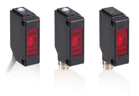 Nye kompakte fotoelektriske sensorer til emballageapplikationer