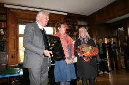Årets hederspris til Berly Lund Grønning
