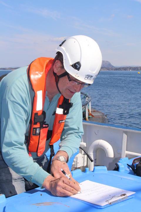 Daglig leder i Ocean Forest - Harald Sveier fra Lerøy
