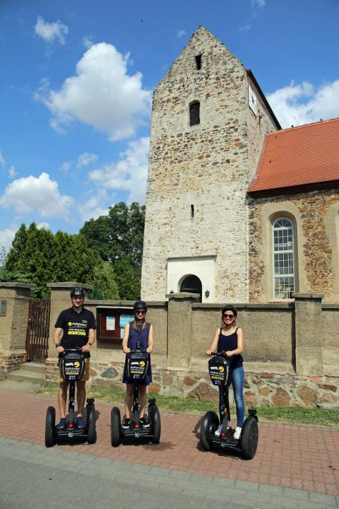 Segway-Tour mit Stadtstromer - Start in Zwochau