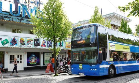 Premiär för nya Djurgårdsbussen 1 juni 2012