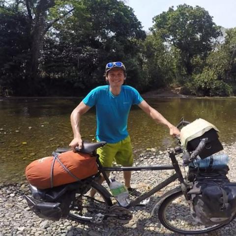 Nominerad Årets äventyrare - Tim Bogdanov