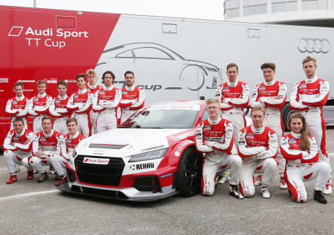 Sæson #2 af Audi Sport TT Cup skydes i gang i weekenden