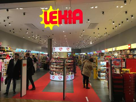 Lekia öppnar leksaksbutik på Triangelns köpcentrum i Malmö