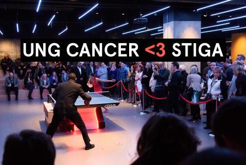 STIGA Sports hjälper Ung Cancer skapa gemenskap