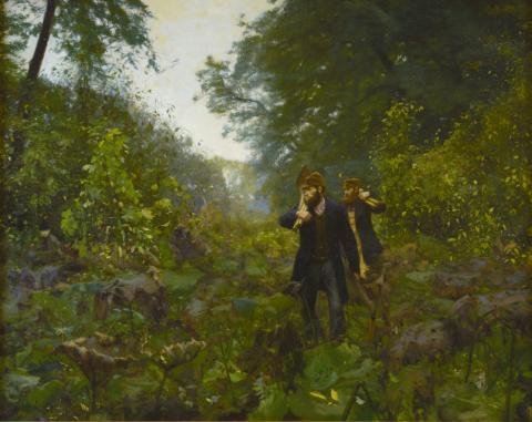 Stor efterårsudstilling på Malerisamlingen: 'Kunstnerbrødre. L.A. Ring & H.A. Brendekilde'