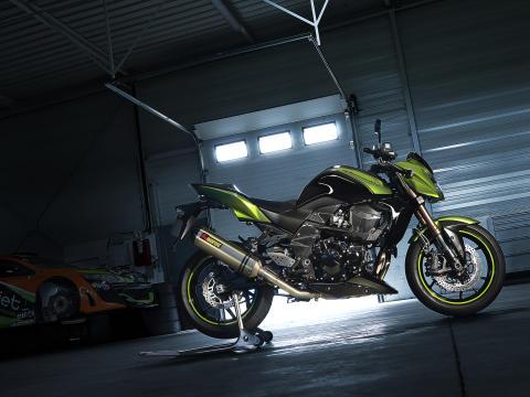 Kawasaki visar första landsvägsmotorcykeln för 2011 - Z750R