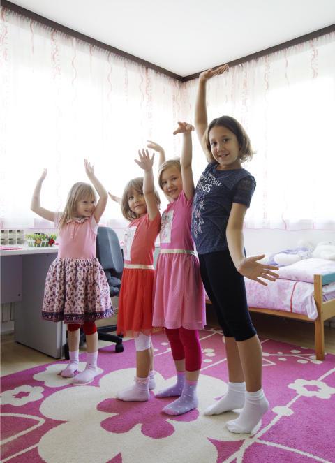 Fire søsken i Bosnia fikk et nytt hjem i SOS-barnebyer.
