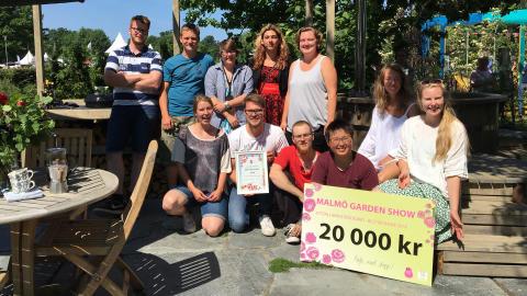 Storslam för Hvilan Utbildning på Malmö Garden Show: Både trädgård och balkong blev Best in Show!