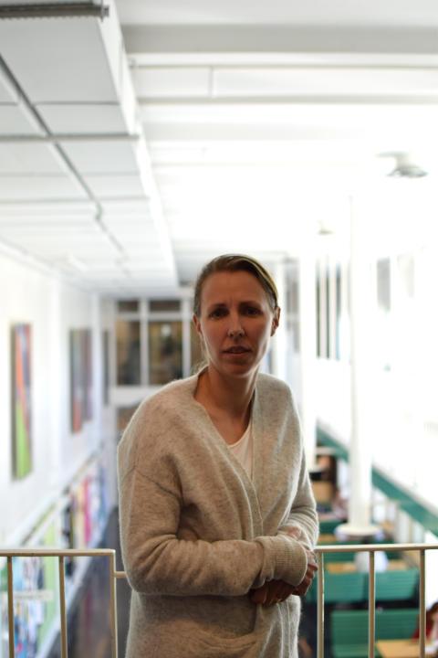 Helen Eriksson. Foto: Stockholms universitet