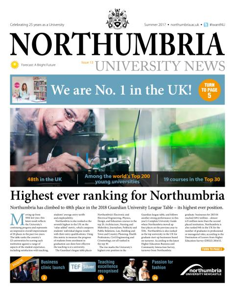 Northumbria University News Issue 13