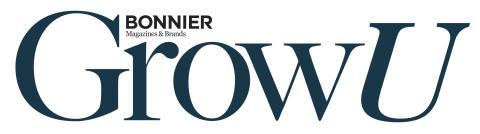 Bonnier Magazines & Brands GrowU