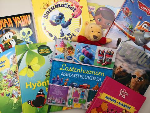 Streamlog lahjoitti Pelastusarmeijalle lastenkirjoja