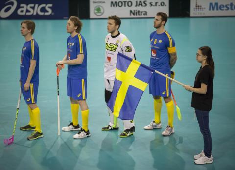 Mattias Wallgren firade 100 landskamper