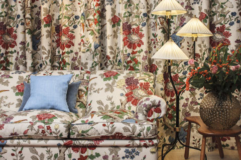 Svenskt Tenn and GP & J Baker launch new textiles after 75 years of collaboration