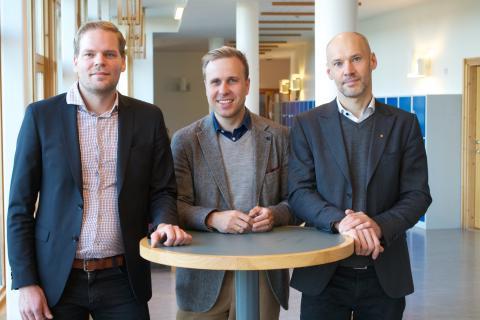 Personal på Carlforsskas Ekonomi- och Handelsskola