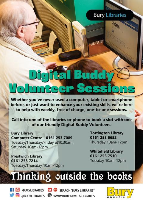 Computer users – need some help from a Digital Buddy?