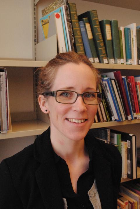 Lisa Carlsson, biologilärare.