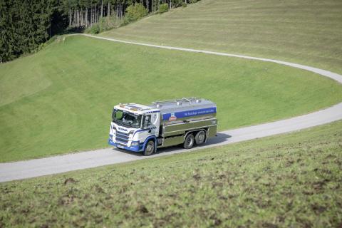 Scania auf der Milchstraße