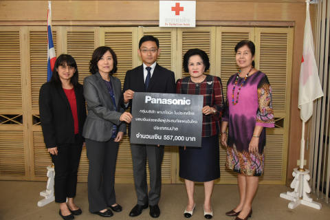 Panasonic Group Companies (Thailand) Donated 558,000 Baht to Nepal Earthquake Relief