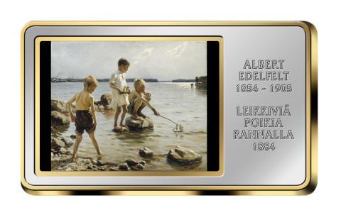 """Albert Edelfeltin """"Leikkiviä poikia rannalla"""" valittiin kaikkien aikojen merkittävimmäksi maalaukseksi"""