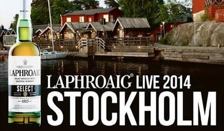 Årets whiskyevent LAPHROAIG LIVE kommer till Stockholm
