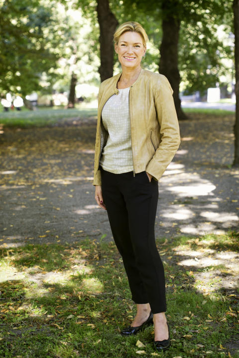 Kristina Sparreljung, generalsekreteare för Hjärt-Lungfonden