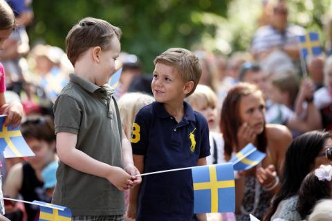 Nationaldagsfirande & rekord i antal nya svenska medborgare