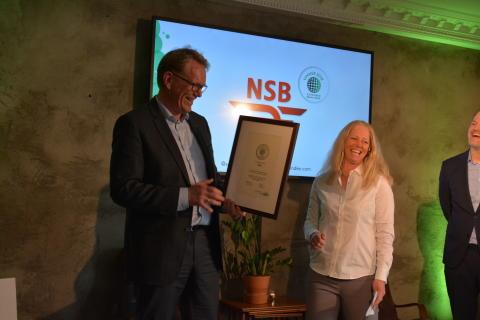Winner NSB Norway 2018