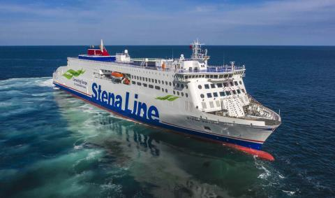 All aboard!!! Stena Estrid to set sail on Monday