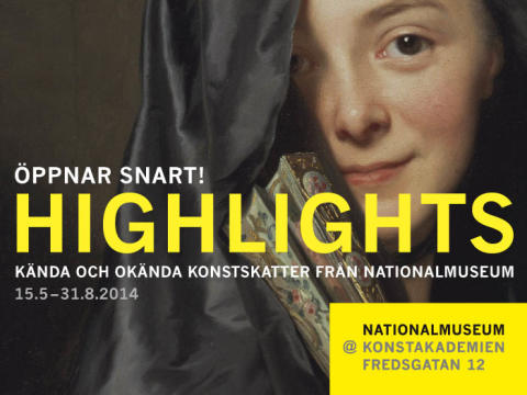 Utställningen Highlights öppnar den 15 maj