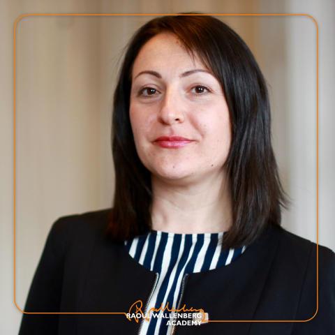 Kavot Zillen, dotter till Abdulbaghi Ahmad som är nominerad till Raoul Wallenbergpriset 2017