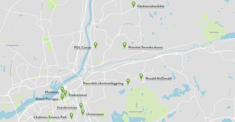 Nu blir det lättare att ladda mobilen i Göteborg