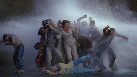 Works by Bill Viola for Uppsala Cathedral