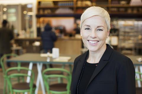Angelica Hedin, redaktionschef på Bonnier Education