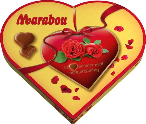 Marabougramma till mamma – Fira Mors dag med Marabou Hearts i ny hjärtformad retroask
