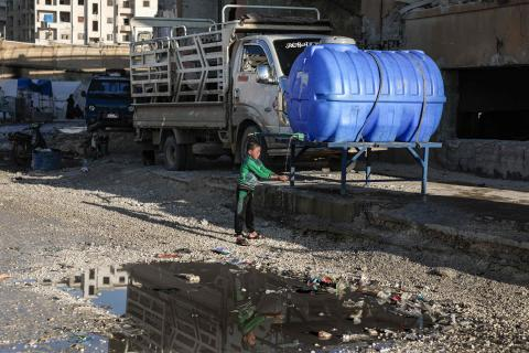 Akut stöd till rehabilitering av hälsokliniker i Syrien 