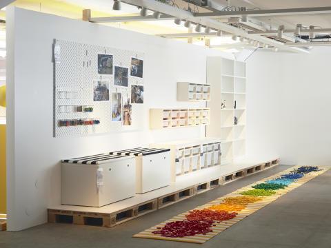 BYGGLEK, IKEAs samarbejde med LEGO. Lanceres i 2020