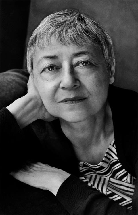 Porträtt Sigrid Nunez_ Foto: Marion Ettlinger