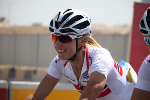 Cecilie Gotaas Johnsen under sykkel-VM 2016